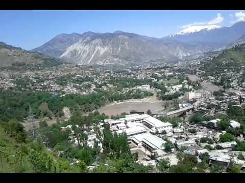 Muzaffarabad, Azad Kashmir from PC Hotel.3gp