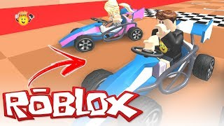 ROBLOX-First time racing game 🚗