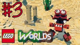 Ethan plays LEGO Worlds (#3) - BURNARD! BAZOOKA!! | KID GAMING