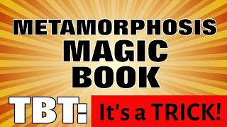 Metamorphosis Magic Book with BONUS - MagicTricks.com