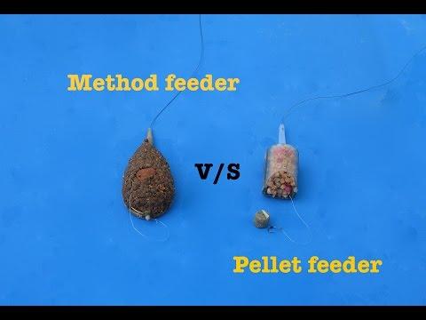 Method feeder vs Pellet Feeder