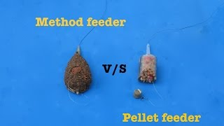 Method feeder vs Pellet Feeder