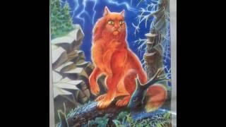 Коты Воители герои племен /Моё Первое Видео🐺