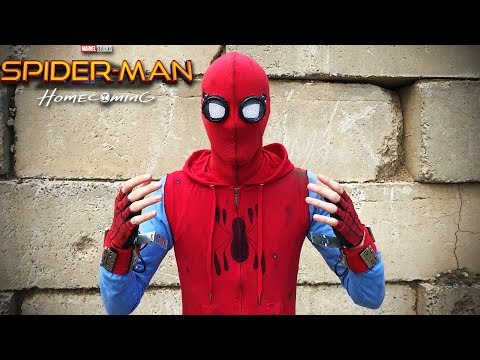 """My Spider Man: Homecoming """"Homemade Suit""""!"""