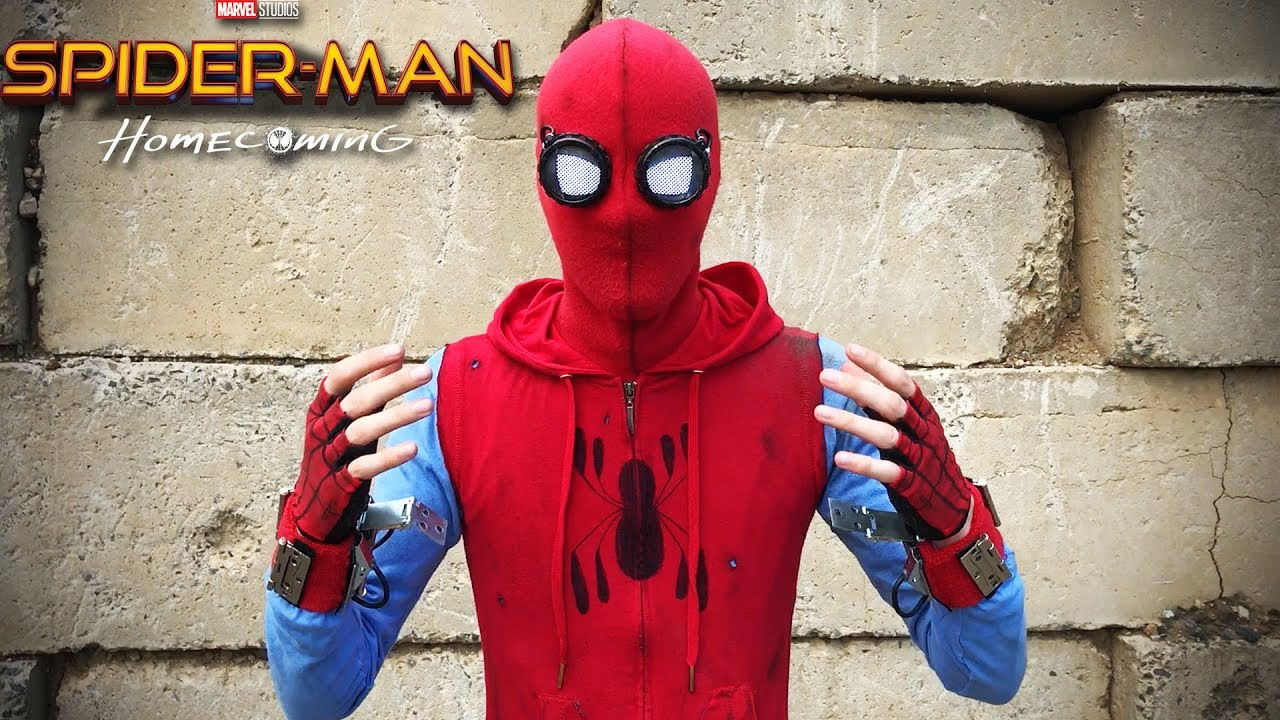 my spider man homecoming quothomemade suitquot youtube