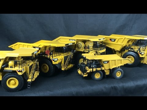 1/50 Scale CAT Review Part 5 - Mining Trucks