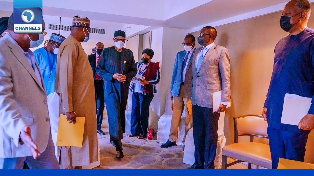 Download 76th UNGA: President Buhari To Meet WTO DG