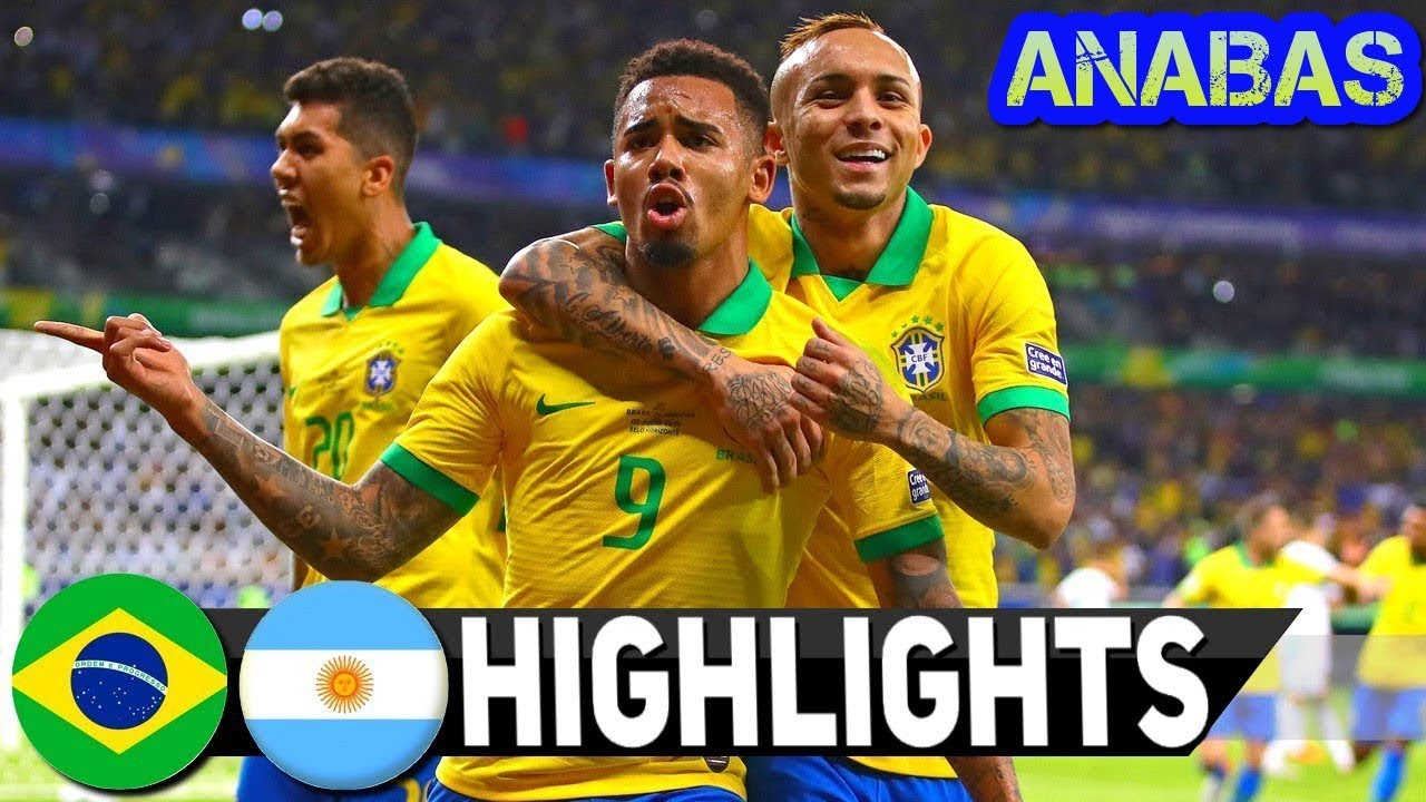 Brazil vs Argentina 2-0 Highlights and Goals 2nd Half (Copa America 02-07-2019)
