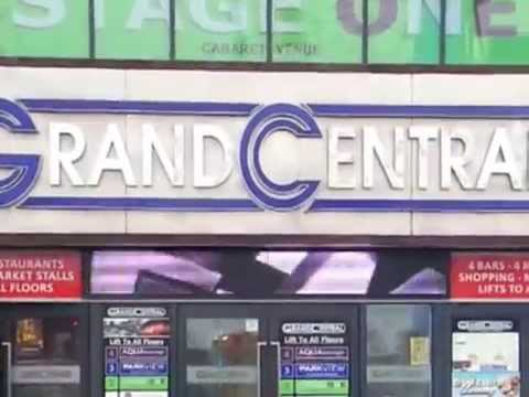 the grand central Skegness fitting new led digital banner 4m meters by 0.5 meters