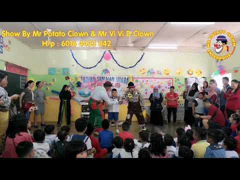 Comedy Clown Show By Mr Potato Clown & Mr Vi Vi D Clown