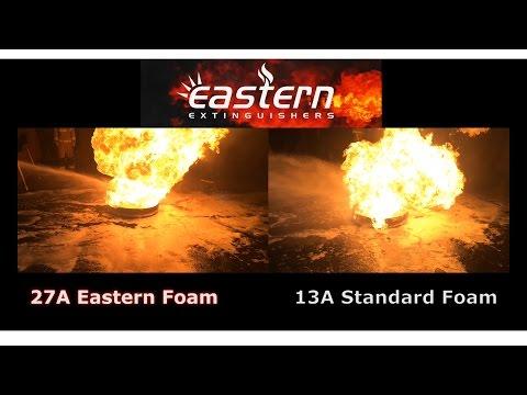 Eastern Extinguishers - Foam comparison test