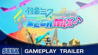 Hatsune Miku: Project DIVA Mega Mix   Gameplay Trailer