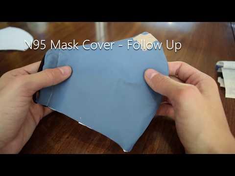Olson-Olsen N95 Homemade Mask Cover Tutorial - Follow Up