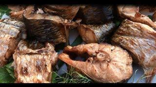 Пеленгас на костре/ Рыба на костре/Шашлык из рыбы