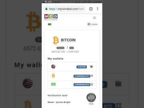 How To Link AWS Mining Account To Mycoindeal Wallet