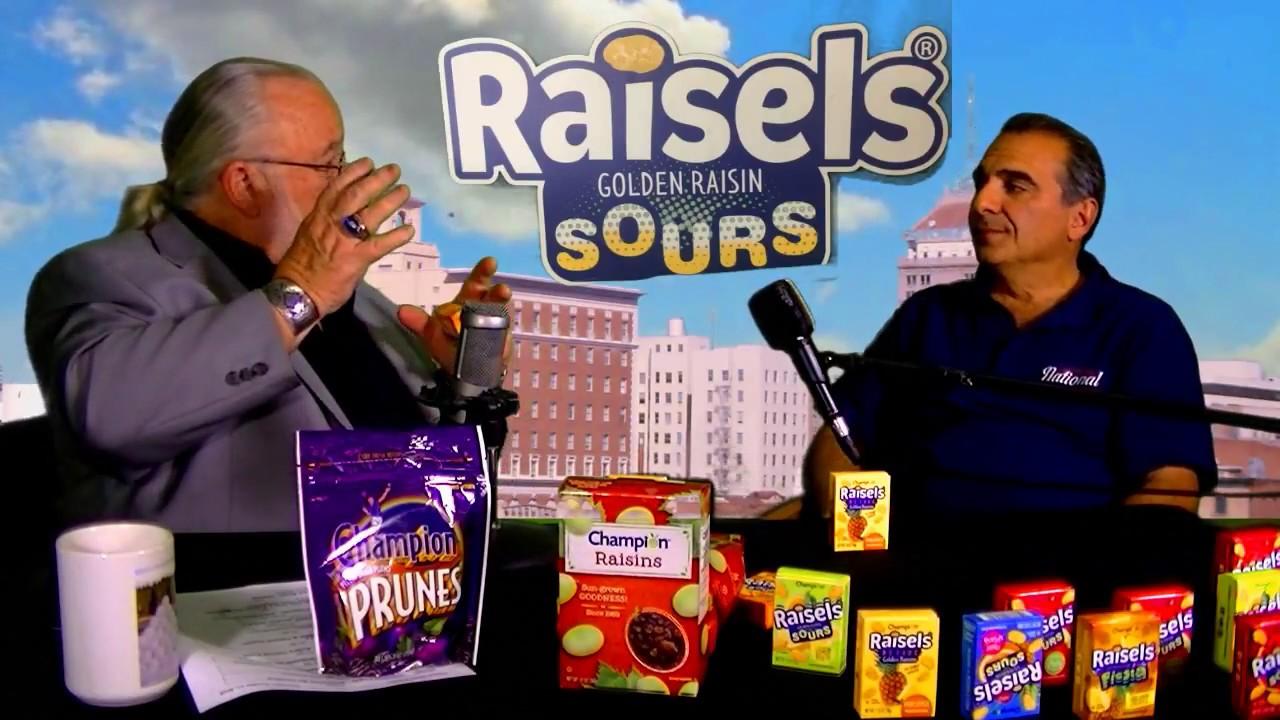 Michael Bedrosian From The National Raisin Company Talks Raisels