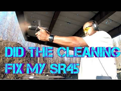 WILL A THOROUGH CLEANING FIX MY SR45?