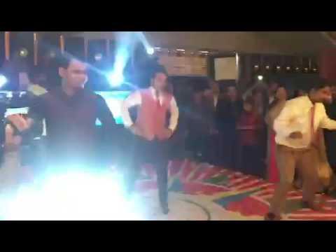 Punjabi wedding celebration dance