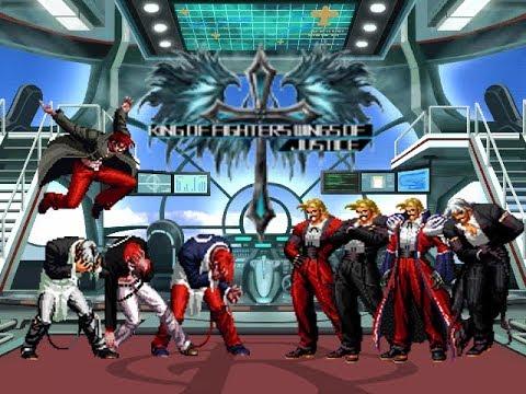 [KOF Mugen] Orochi Iori Team VS Rugal Team