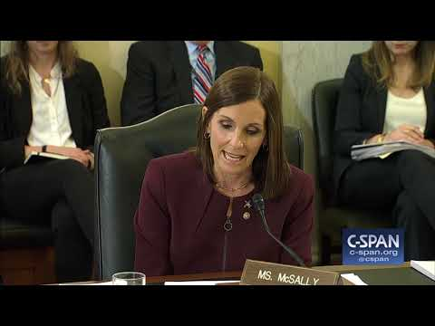 """Sen. McSally (R-AZ): """"I was preyed upon and then raped by a superior officer."""" (C-SPAN)"""