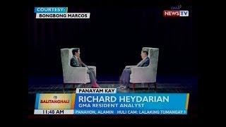 Panayam kay Richard Heydarian, GMA resident analyst