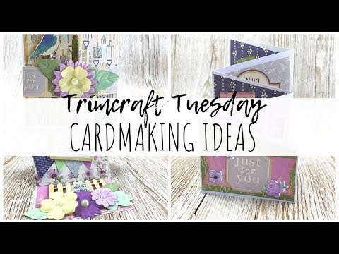 Cardmaking Ideas with Dovecraft Secret Garden | Trimcraft Tuesday | ms.paperlover