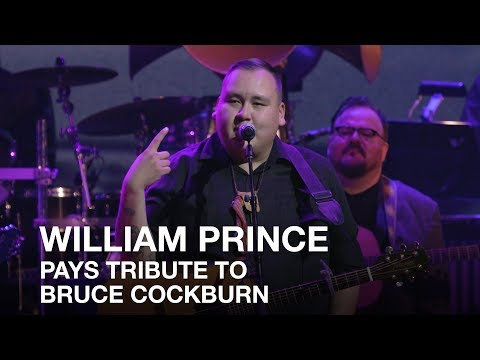 William Prince chats with audience | 2017 Canadian Songwriters Hall of Fame