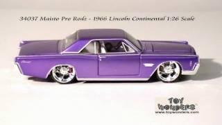 34037-Maisto-ProRodz-1966-Lincoln-Continental-126-Diecast-Wholesale.mpg