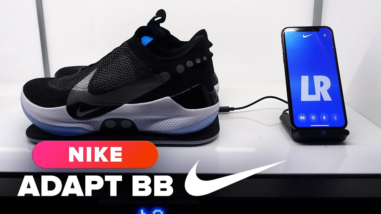 wholesale dealer 61ead 3cf44 Nike Adapt BB self-lacing sneaker hands-on
