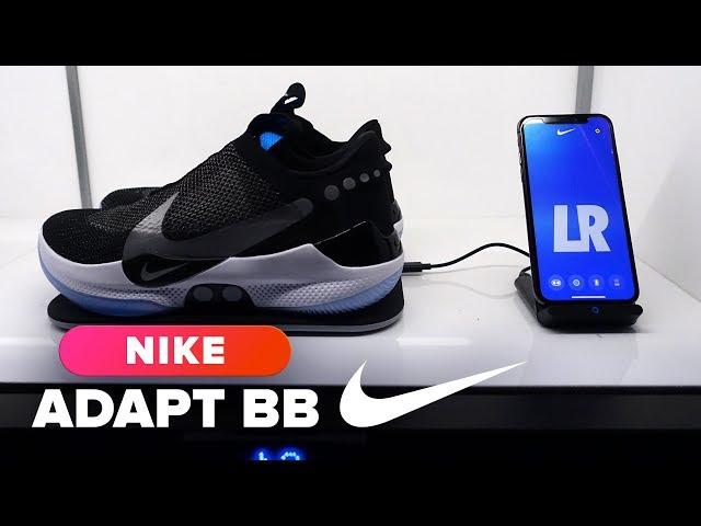 0269ce8bf9f6a9 Wie im Film Zurück in die Zukunft 2  Neuer Nike-Schuh Adapt BB lässt sich  nur noch per App schließen