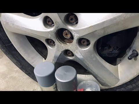 Как покрасить литые диски своими руками видео