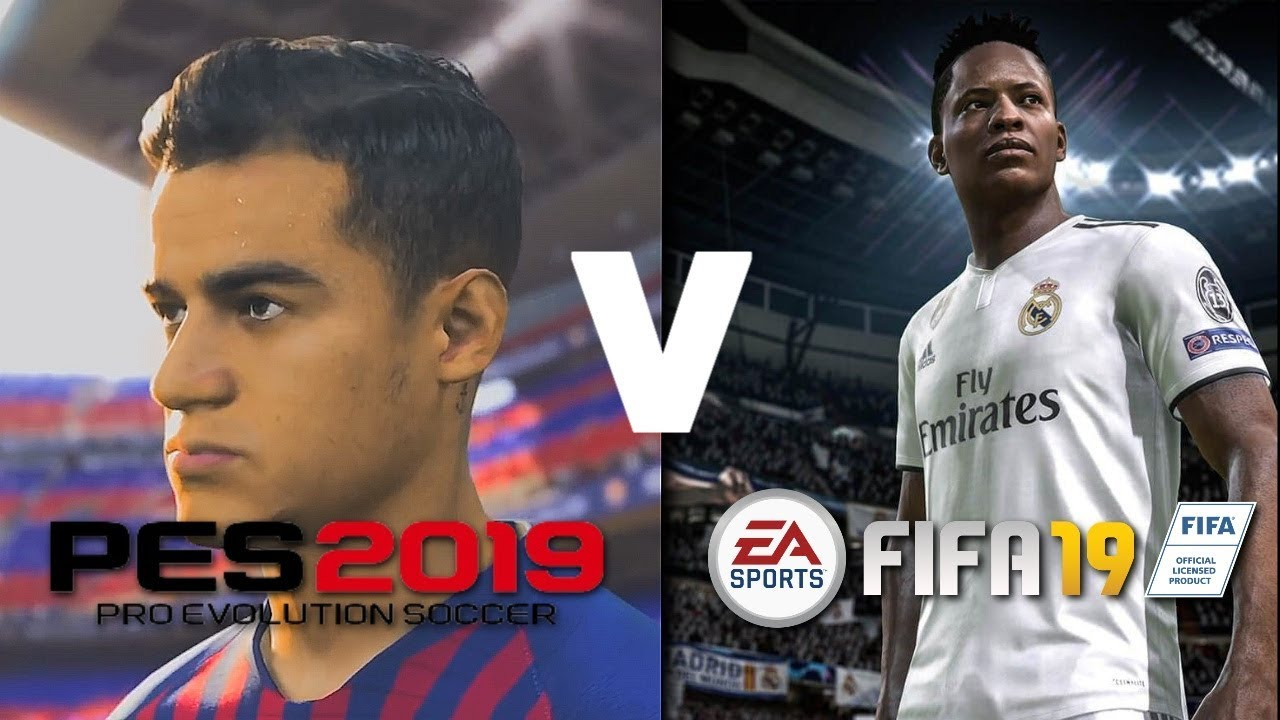 FIFA 19 v PES 2019! | CAREER MODE v MASTER LEAGUE!