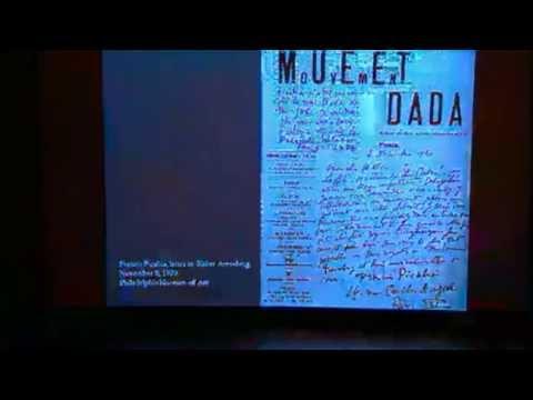 """DADA: A World Turned Upside Down,"" Dr. Jan Schall"