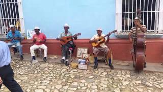 Trinidad, Cuba: locals making music