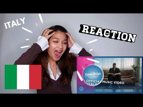 Italy Eurovision 2019 Reaction -  Review -  Mahmood - Soldi 🇮🇹 Alissa