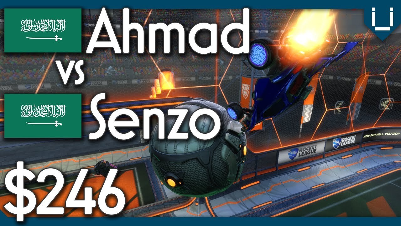 Ahmad vs Senzo | $246 Double Touch Only 1v1