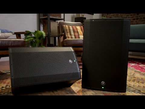 Mackie Thump Powered Loudspeakers - Thump12A and Thump15A