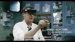 HUS hyödyntää Hololens-teknologiaa yhteistyössä Disiorin kanssa