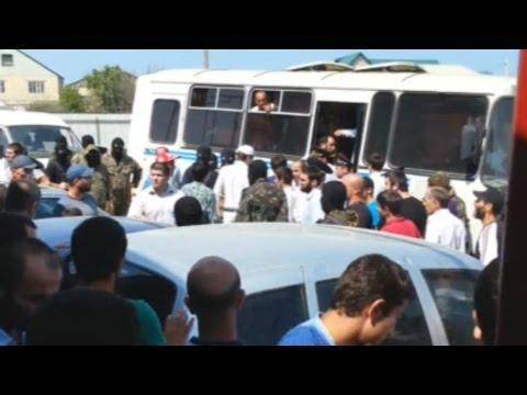 Задержание прихожан в Дербенте (Дагестан)