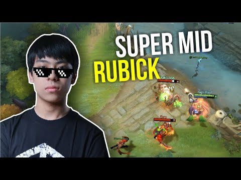 SUPER MID - Ana Rubick Amazing Steal Spell | Dota 2