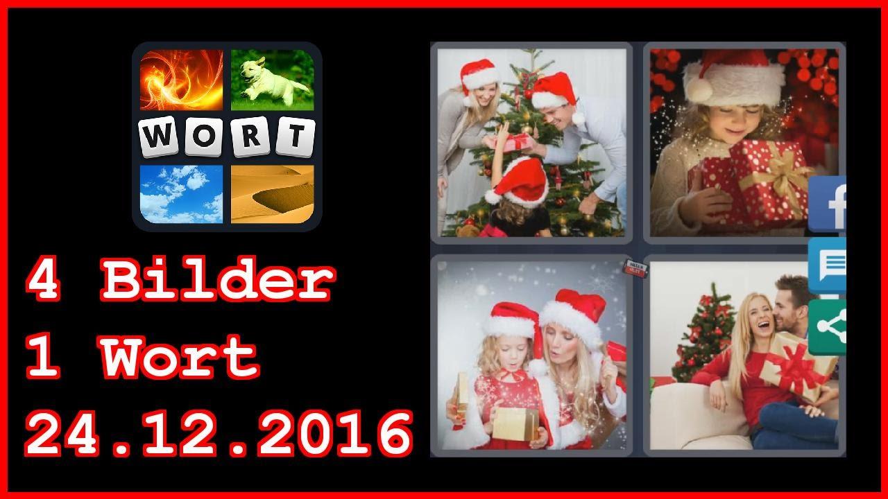 4 Bilder 1 Wort - Tägliches Rätsel - Weihnachten 2016 - 24.12.2016 ...