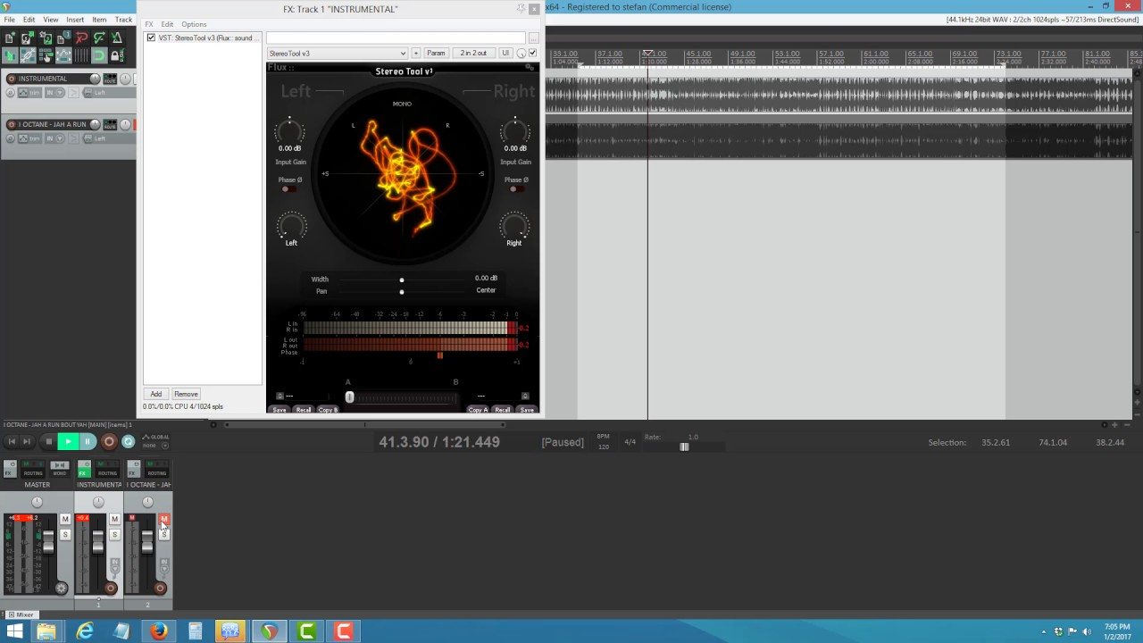 SIMPLE WAY TO EXTRACT ACAPELLA USING REAPER( THIS SCENARIO WORK IN ANY DAW)