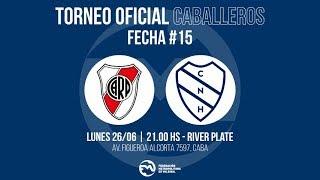 División Honor Masculina - Fecha 15 - River Plate vs. Náutico Hacoaj #MetroVoley