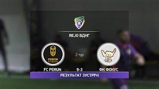 Обзор матча FC Perun ФК Фокус Турнир по мини футболу в Киеве