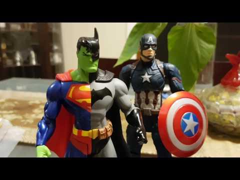 DC Comics Composite Batman Superman figure review