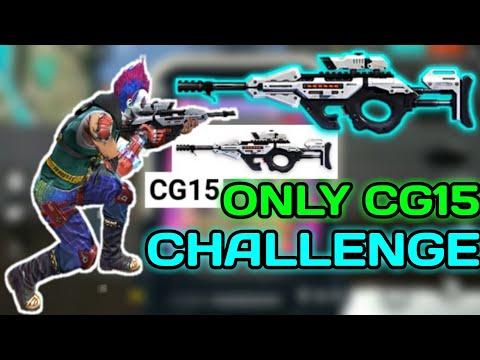 Only SMG GUN [CG15] Challenge || Garena Free Fire.