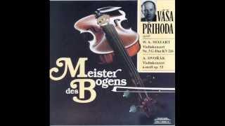 Vasa Prihoda spielt 4 Romantische Stücke Opus 75,1-4 und Slawischer Tanz e-moll Opus 46,2
