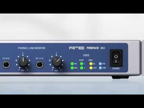 A Legend Reborn - The RME Audio Fireface 802