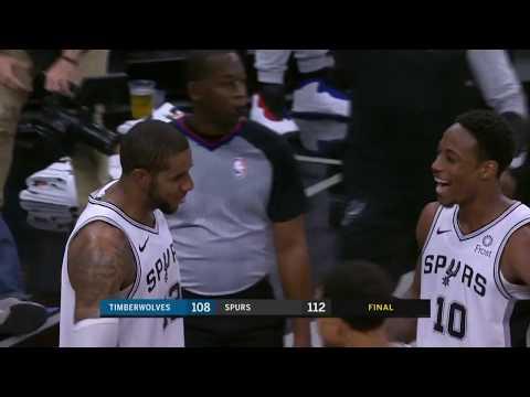 Minnesota Timberwolves vs San Antonio Spurs | October 17, 2018