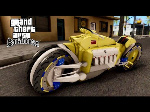 GTA San Andreas | Dodge Tomahawk Gold Bike ( Download Direct link )